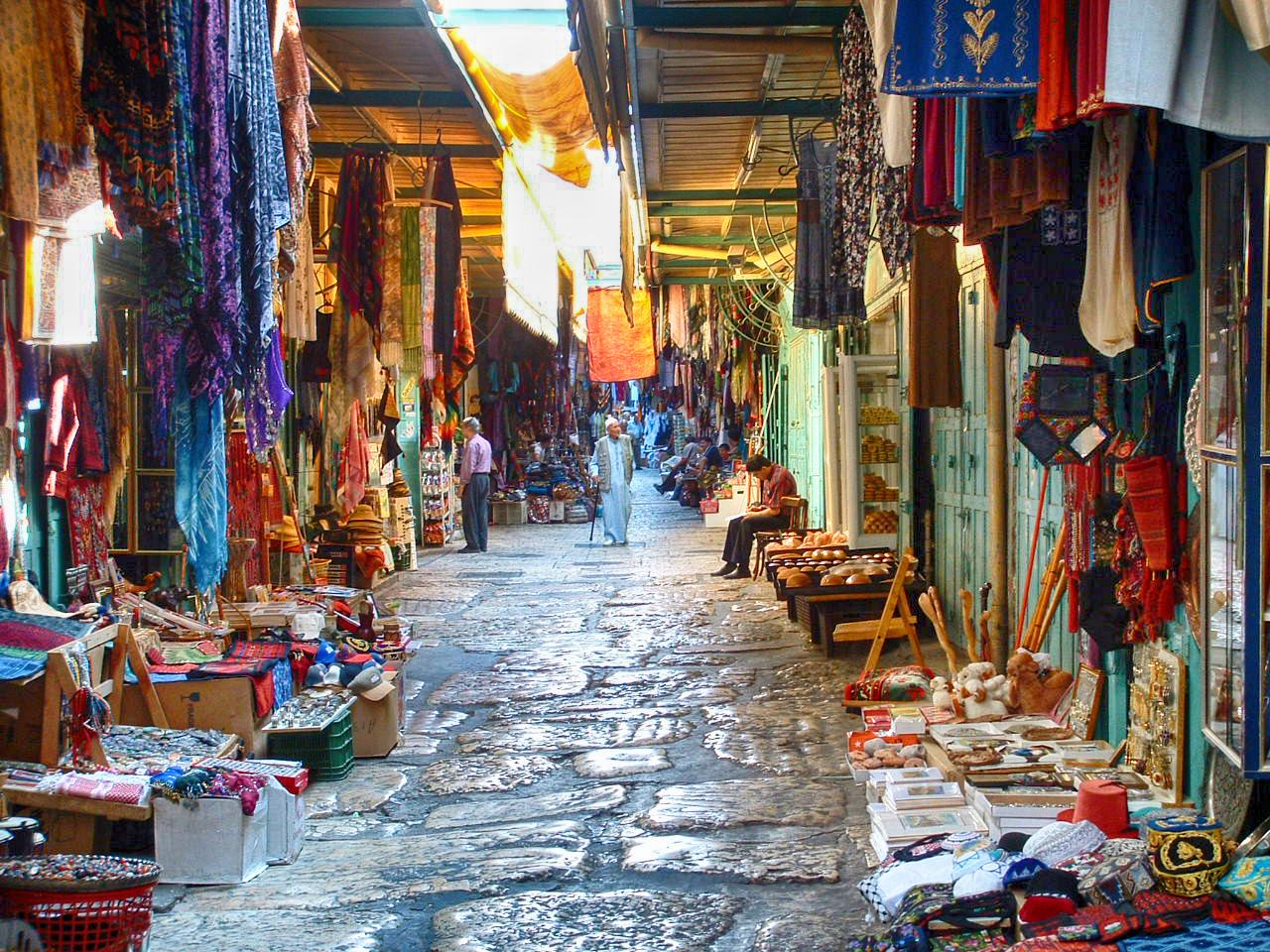 Israel-Rundreise: Jerusalem Suq Old Town