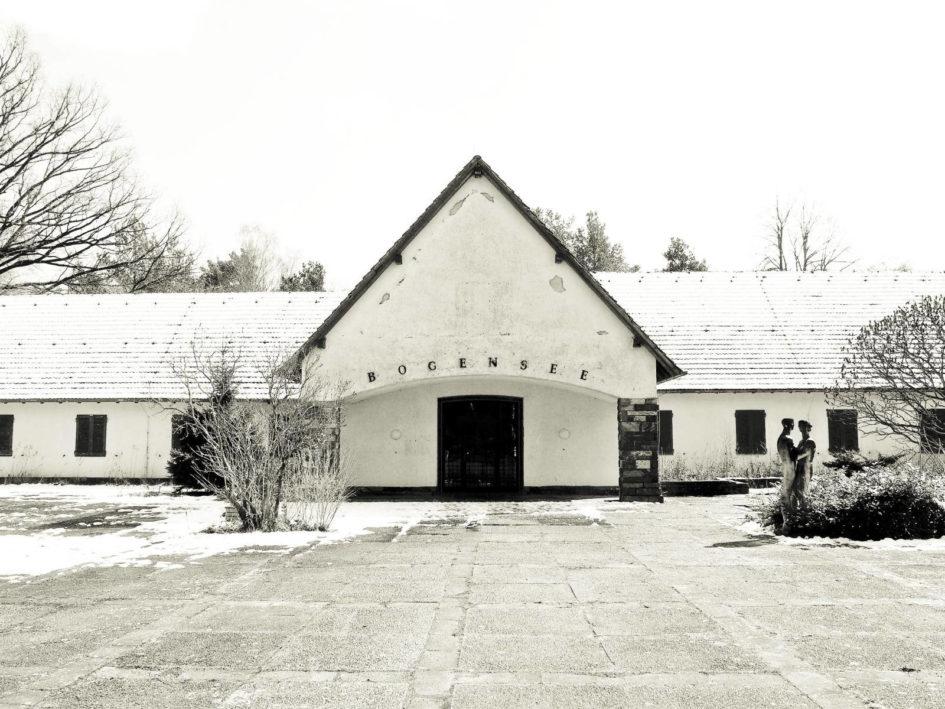 Villa Bogensee im Schnee