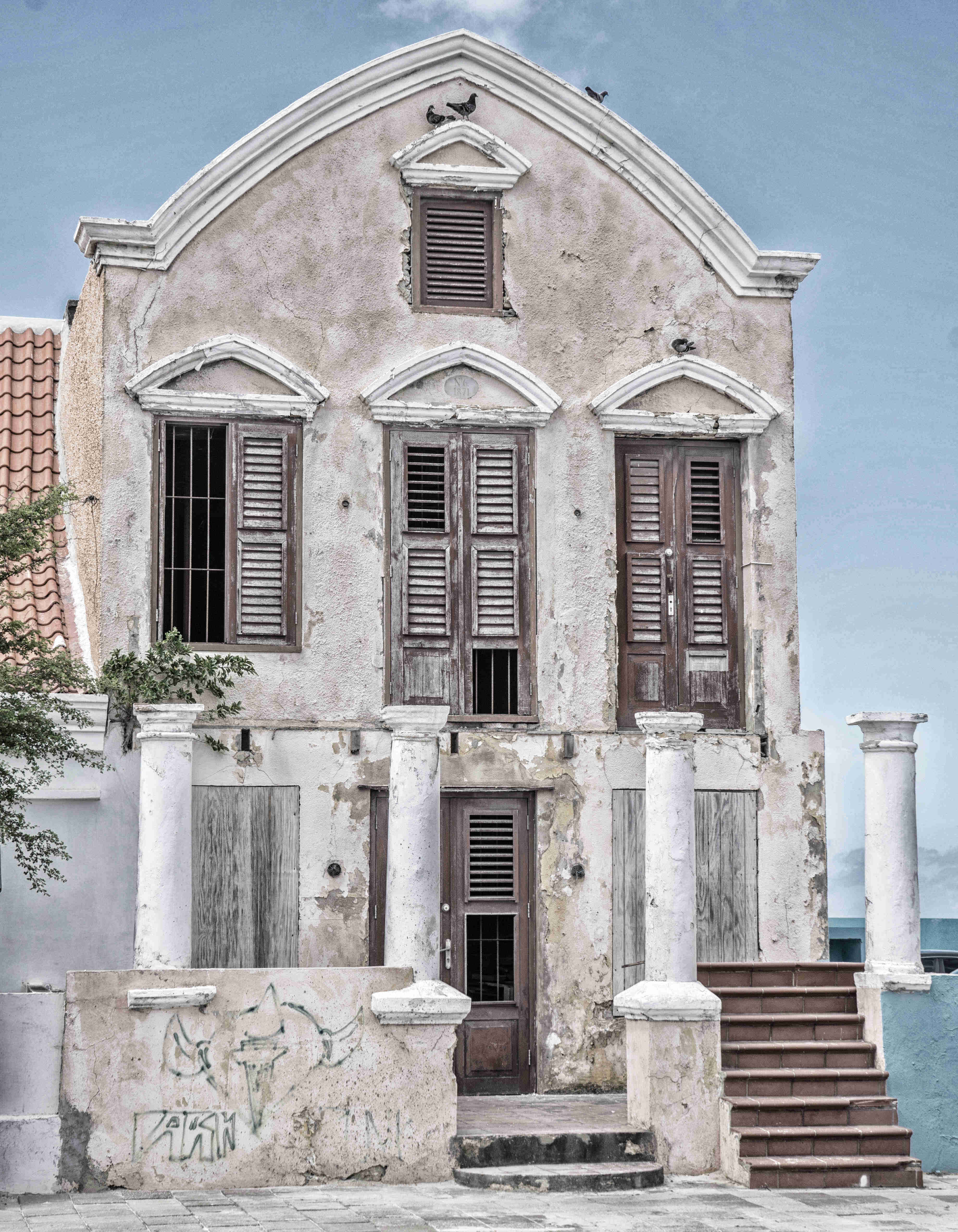 curacao-architektur-hollaendisch-karibisch-haus-lost-places