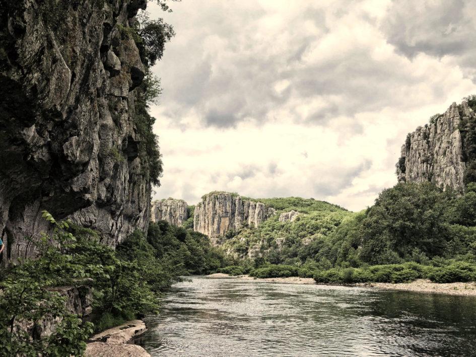 Cevennen Tipps: Schwimmen in den Schluchten des Chassezac