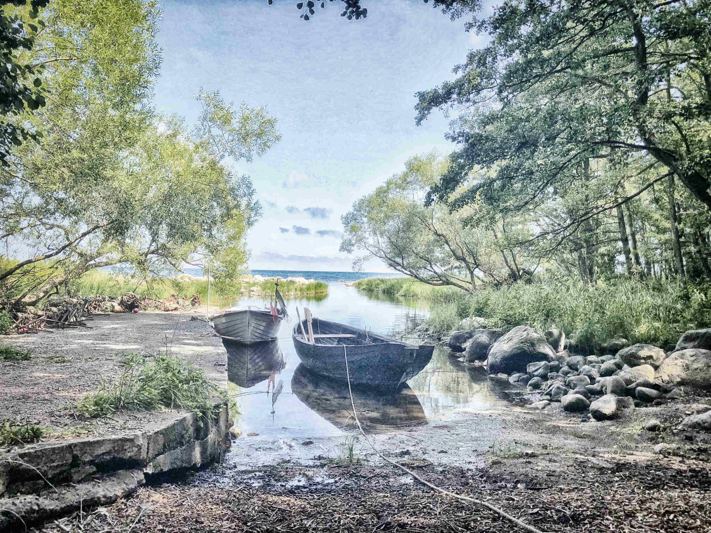 Skåne Schweden: Fischerbucht im Nationalpark Stenshuvud