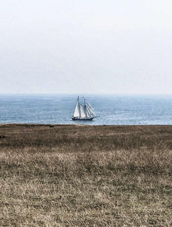 Skåne Schweden Küste vor Ales Stenar