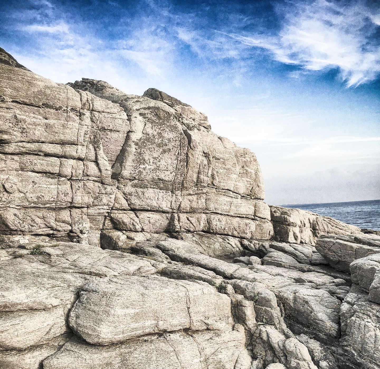Skåne Wandern: die Klippen von Kullaberg