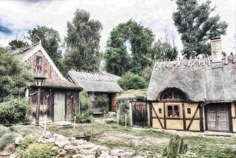 Skåne Wandern: Brösarp in der Region Österlen in Skåne