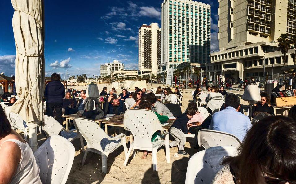 Silvester in Tel Aviv Beach Life