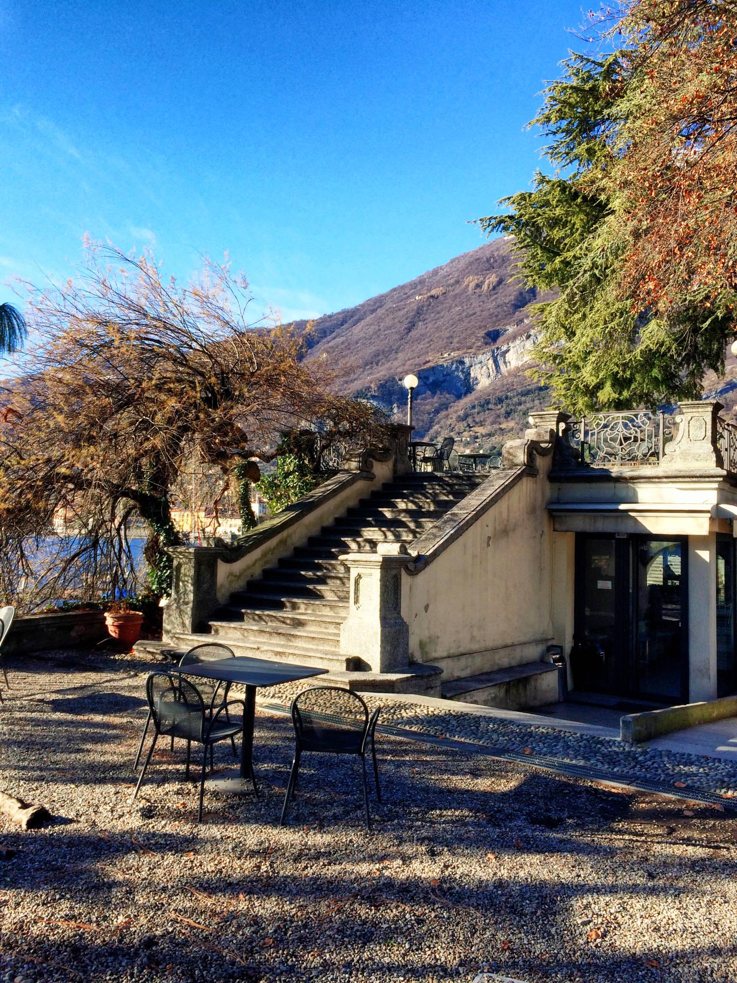Tipps Comer See im Winter: Der Park der Villa Carlotta