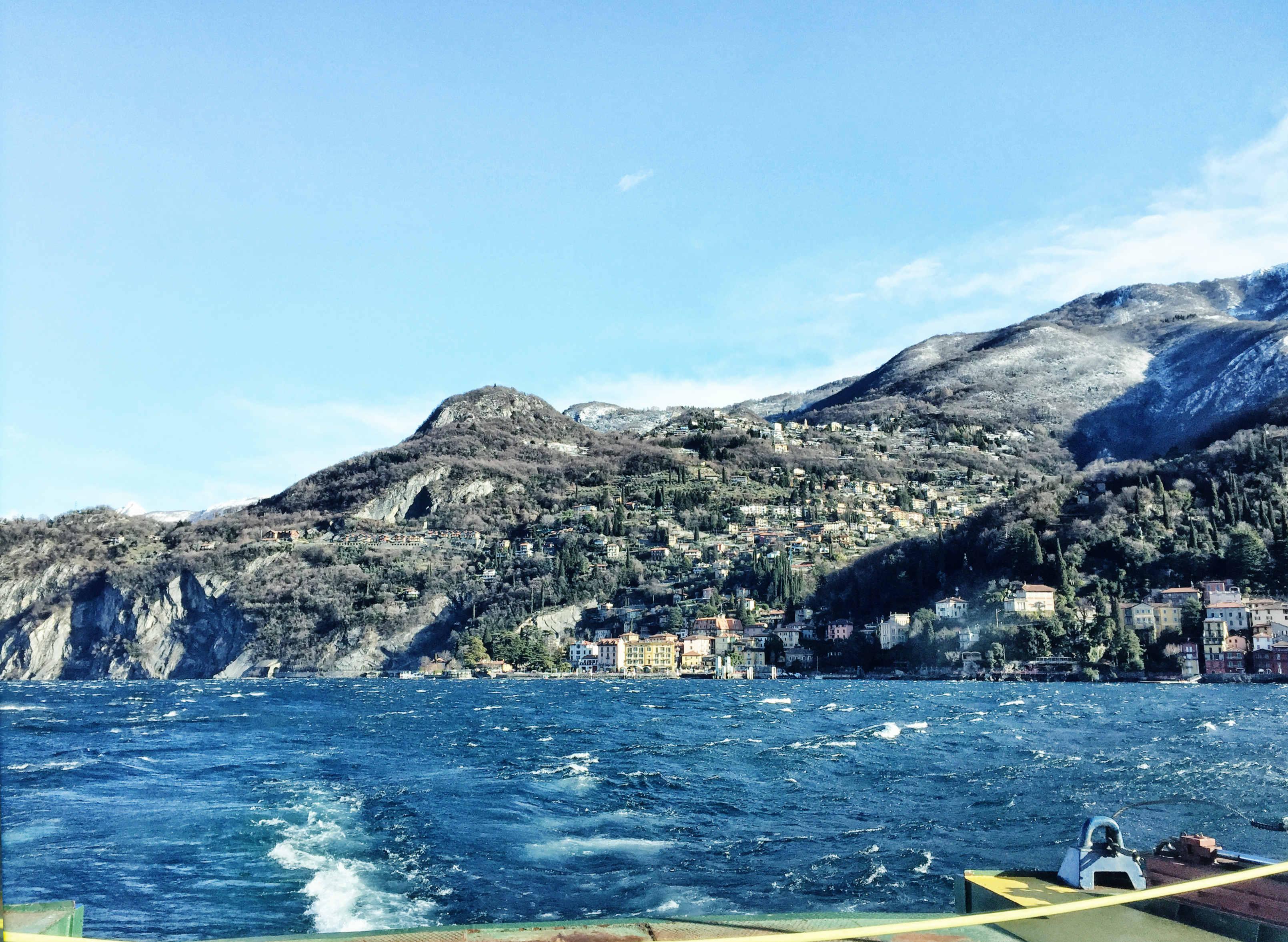 Comer See im Winter: Überfahrt von Ravenna nach Bellagio