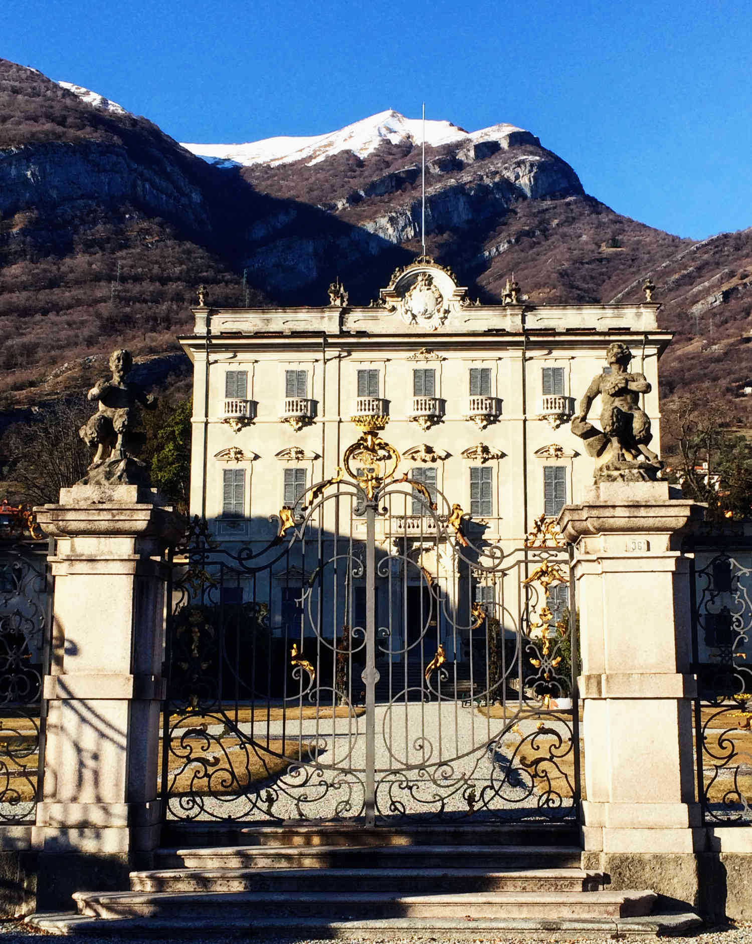 Tipps für den Comer See im Winter: eine Villa in Tremezzo