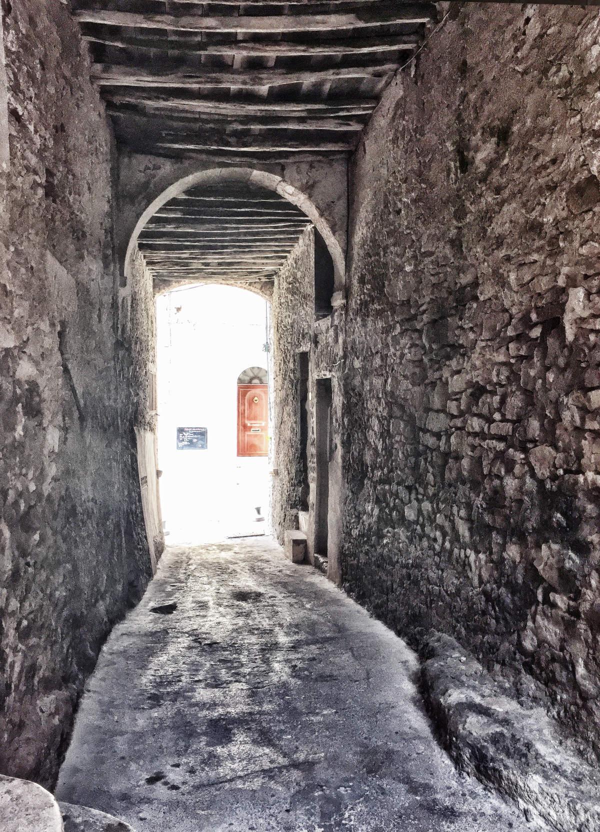 Korsika Bonifacio - alte Gassen