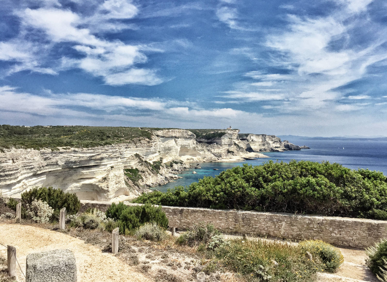 Korsika Strand und Wandern bei Bonifacio