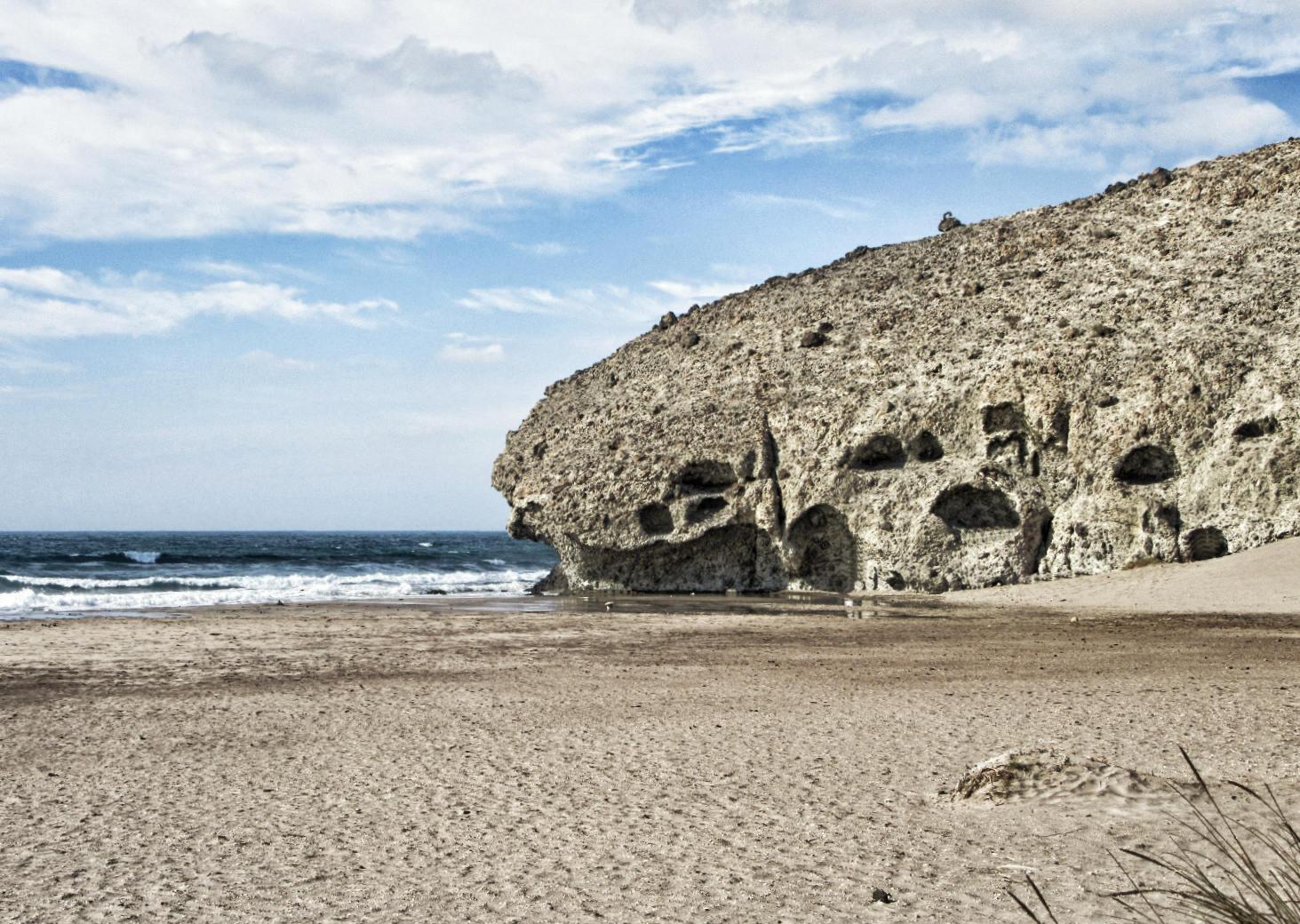 Andalusien-Roadtrip: Am Cabo de Gato gibt es noch einsame wildromantische Strände