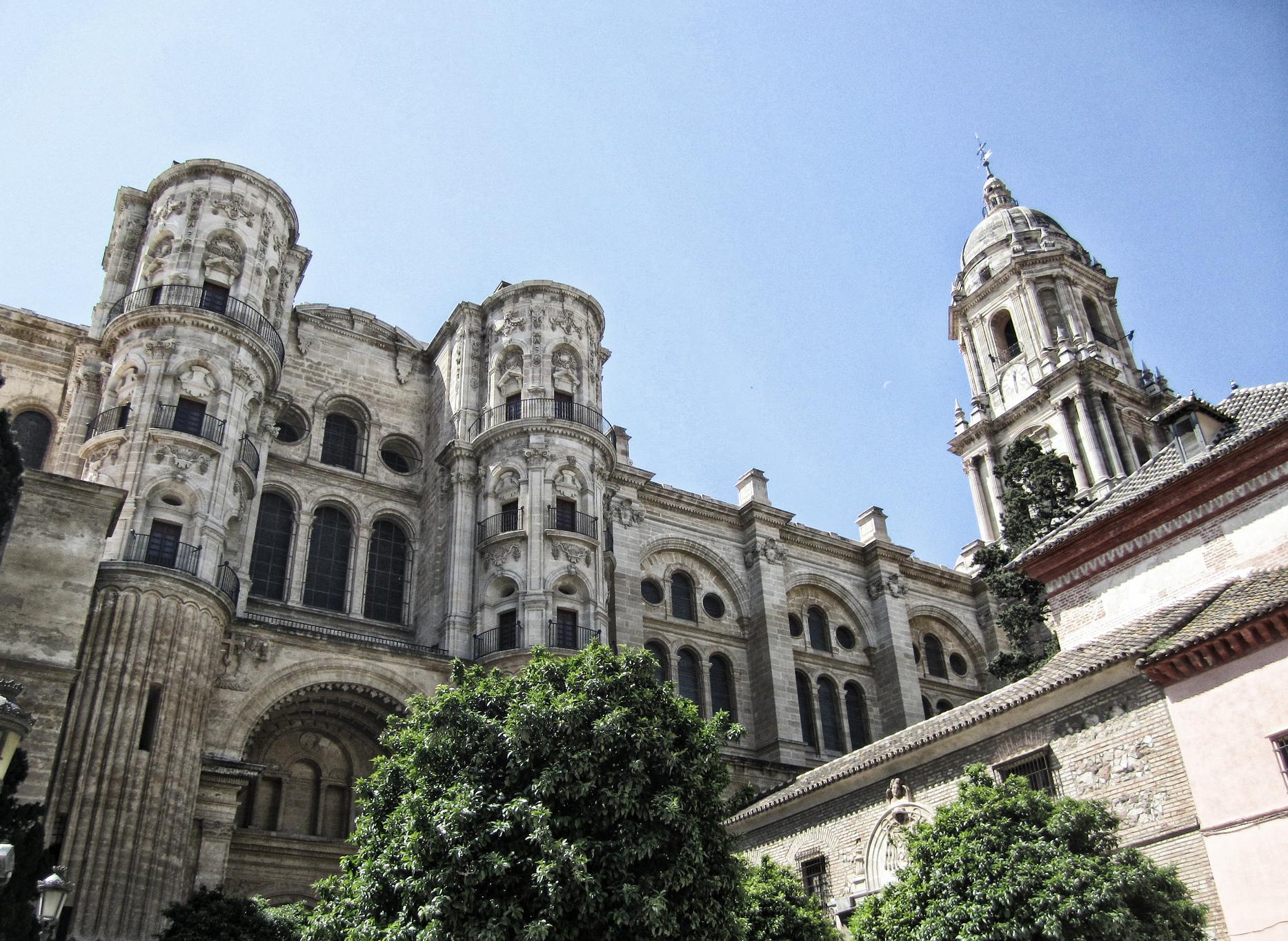 Die mächtige Kathedrale von Malaga