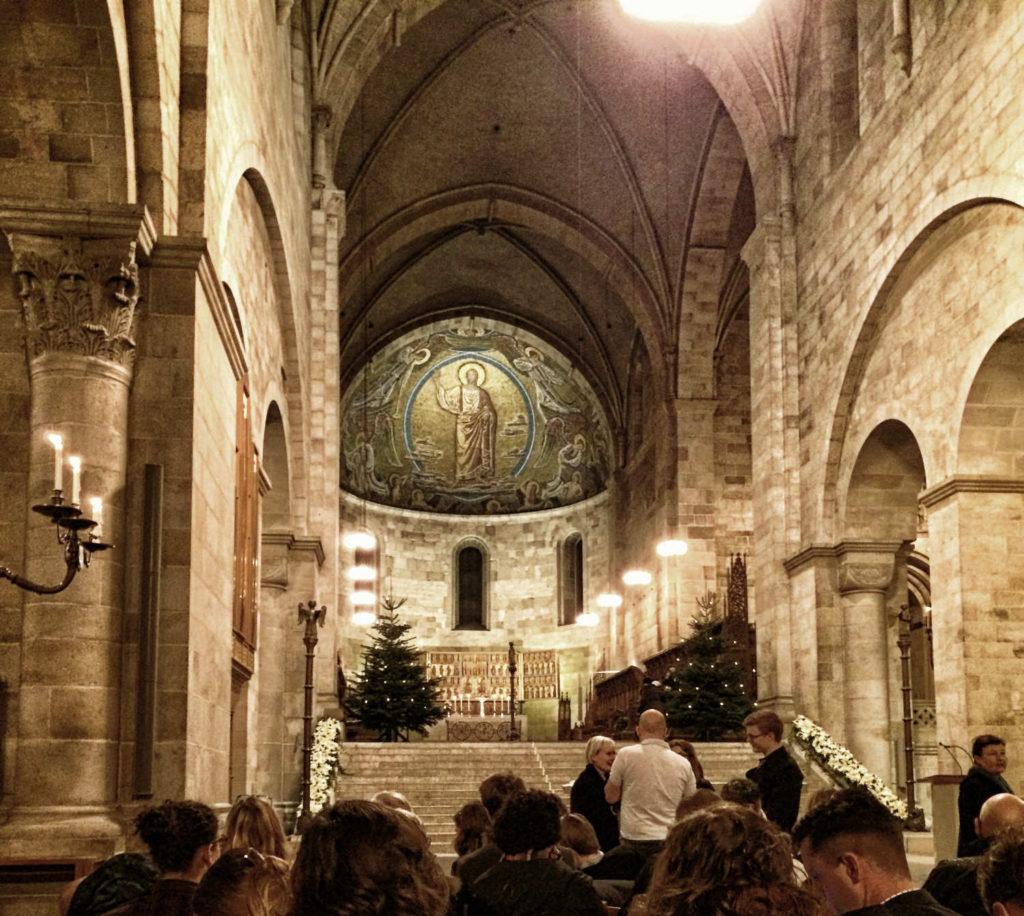 Heiligabend im Dom zu Lund