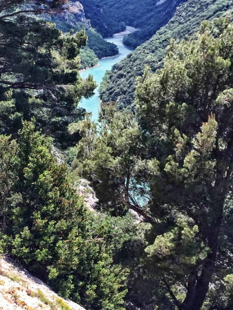 Gorges du Verdon - Route des Cretes am Verdon