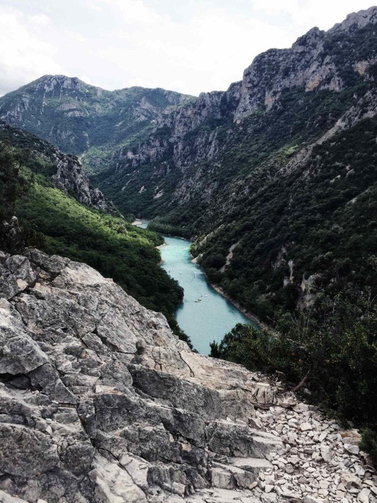 Canyon du Verdon: Spektakuläre Aussichten auf den türkis-blauen Verdon