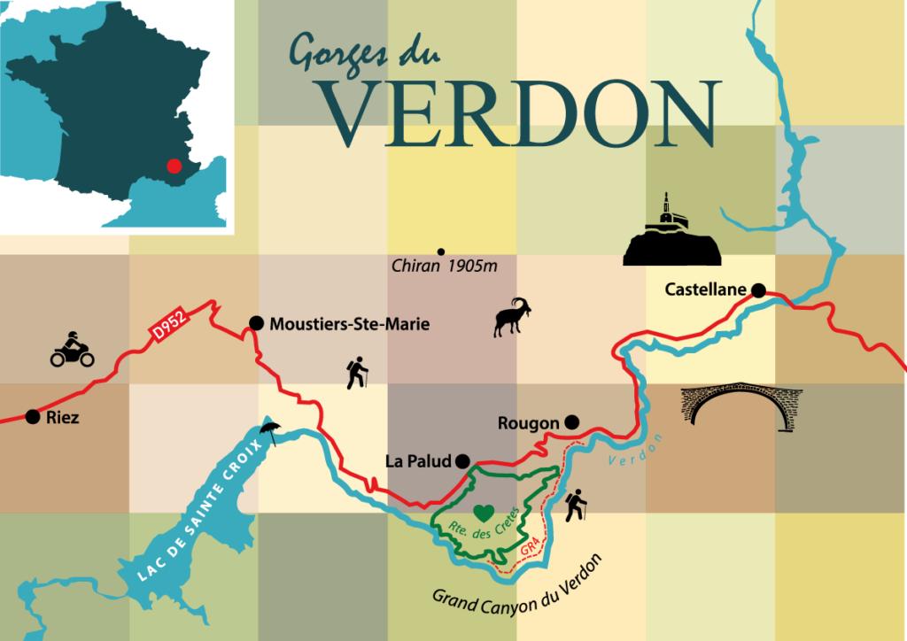 Gorges du Verdon - in der wilden Ecke der Provence