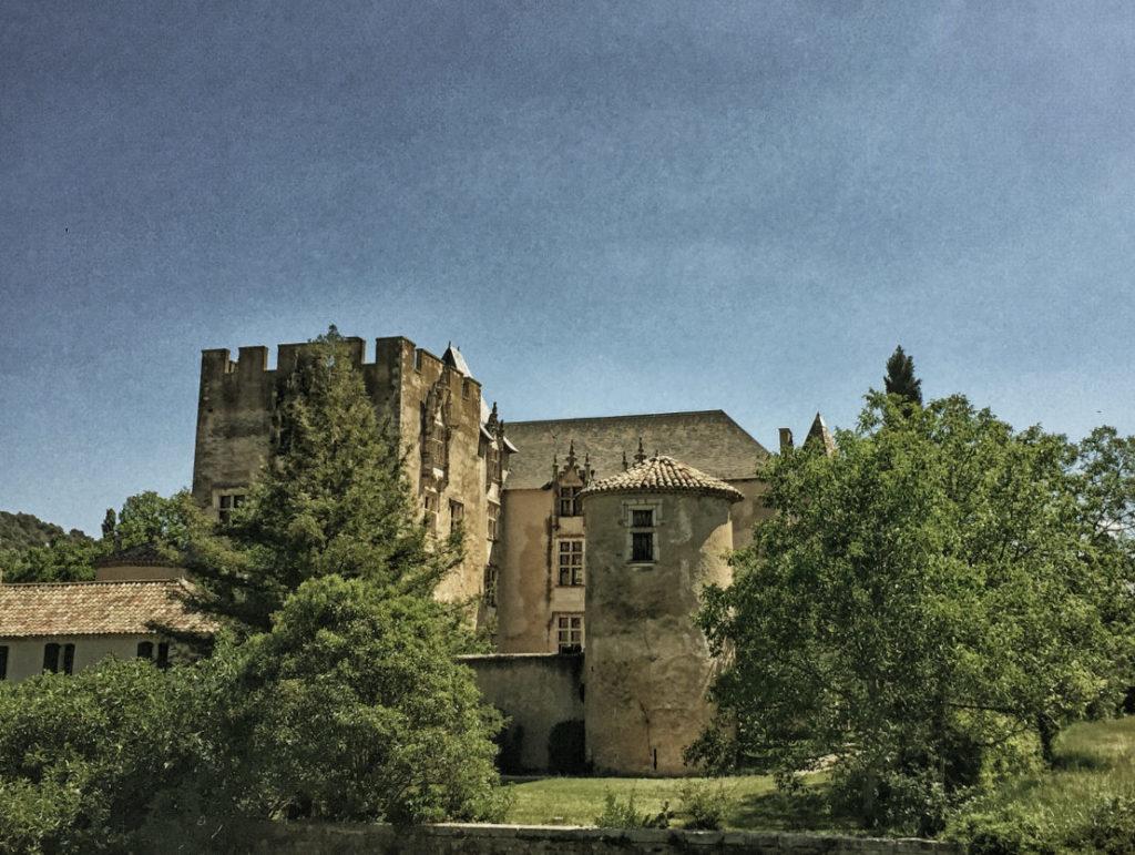 Luberon, Provence: das Château Allemagne-en-Provence