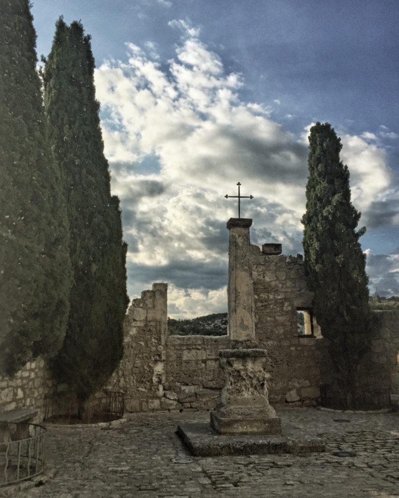 Luberon-Frankreich: Baux de Provence