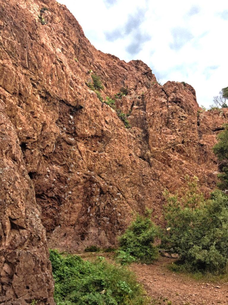 Klettern im Esterel-Gebirge