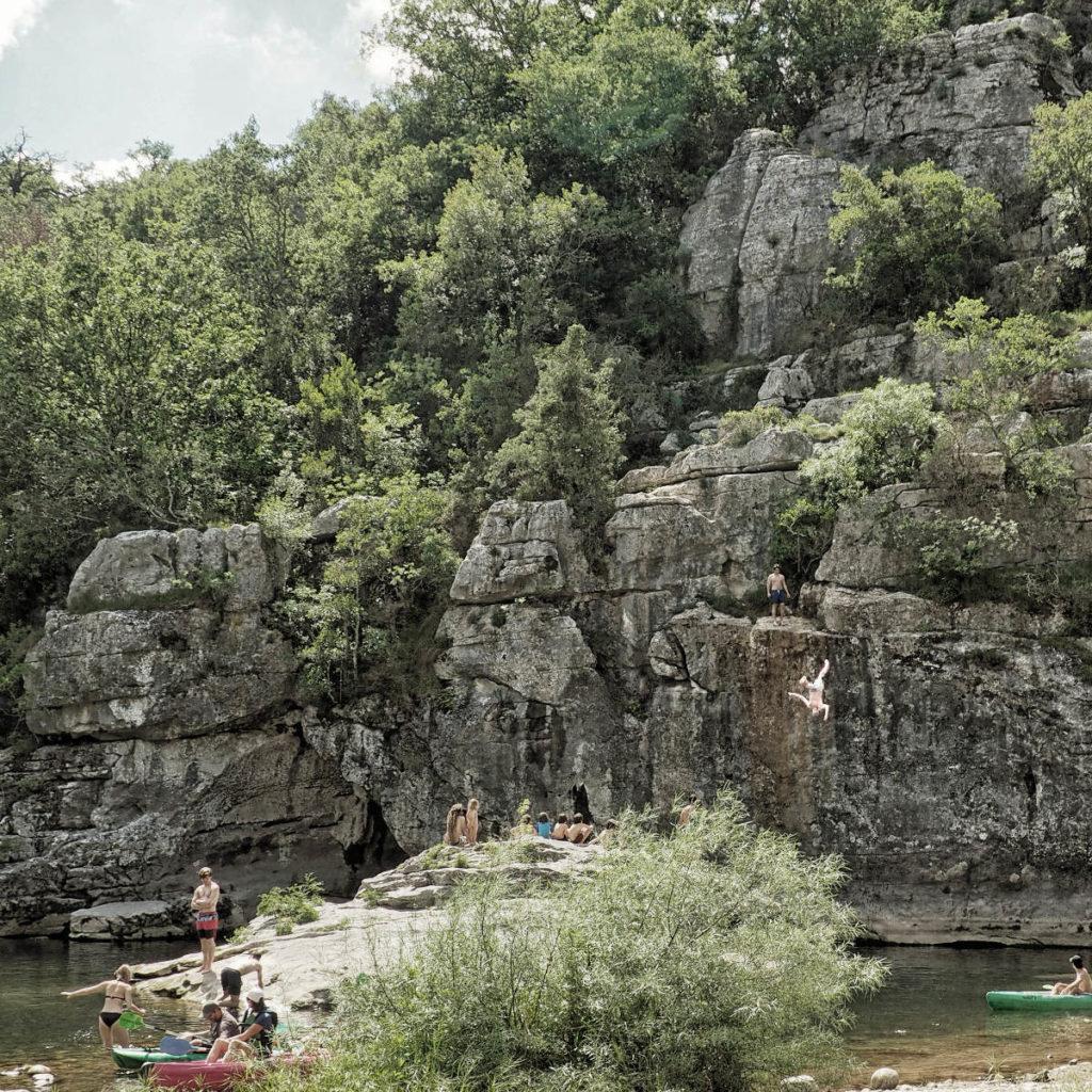 Chassezac - Cevennen - Wandern und Flussbaden