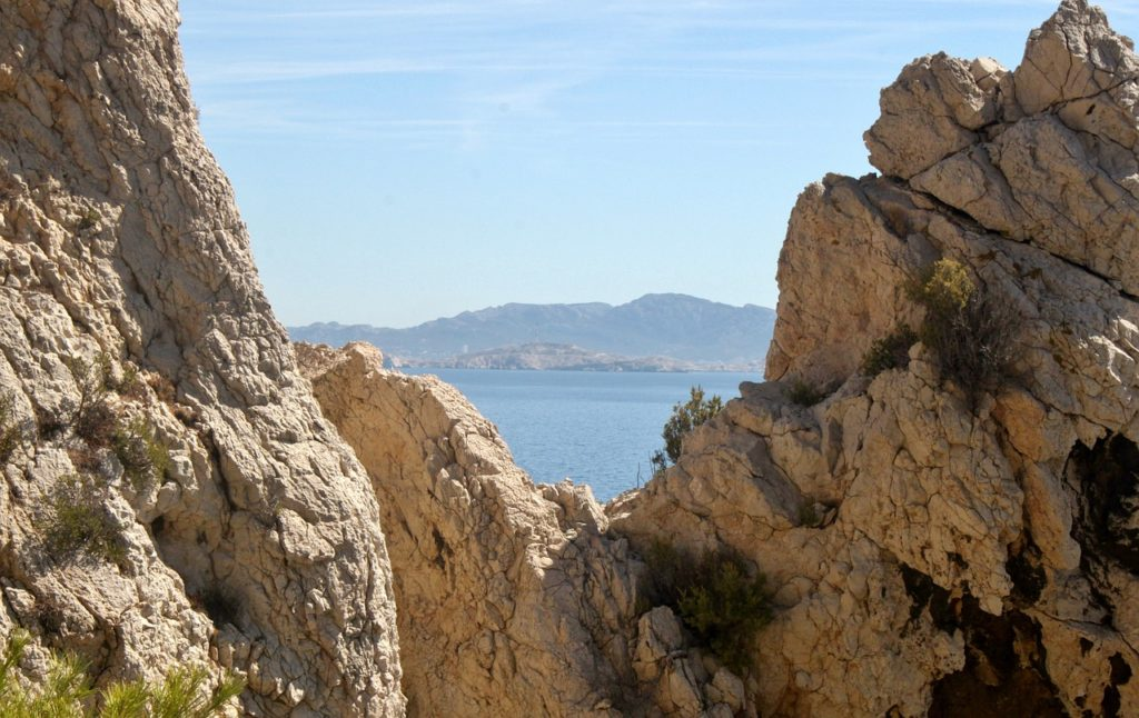 Südfrankreich Wandern: lestaque Niolon an der Cote Bleue